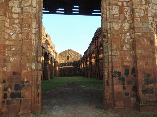 Ruins of Sao Miguel das Missoes: Porta de entrada das ruínas