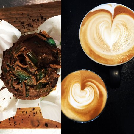 Warners Bay, Australia: Peppermint choc muffin