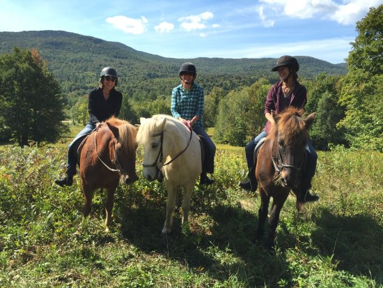 Moretown, VT: Photo Op on the Trail Ride