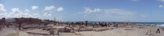 Cesarea, Israel: 180° view