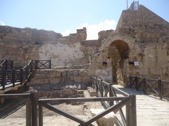Cesarea, Israel: entrance to the anphitheatre