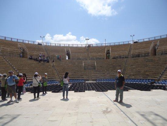 Cesarea, Israel: anphitheatre