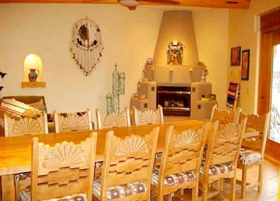 Summerland, Kanada: Dinning area