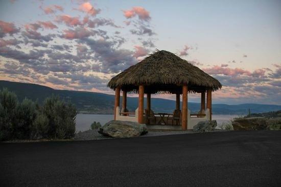 Summerland, Kanada: Gazebo for weddings