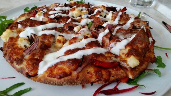 Hepburn Springs, Australia: Greek Lamb Pizza