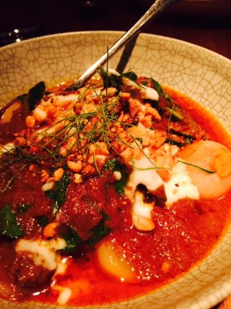 Nahm Restaurant: panang curry of Wagyu beef