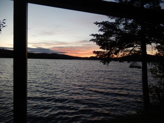 Pittsburg, NH: view from cabin deck