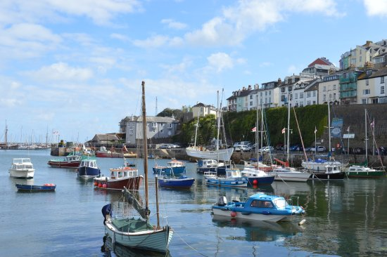Brixham, UK: Houses on the right offer a spectgacular view