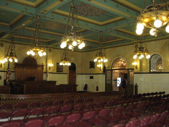Bloomington, IL: courtroom