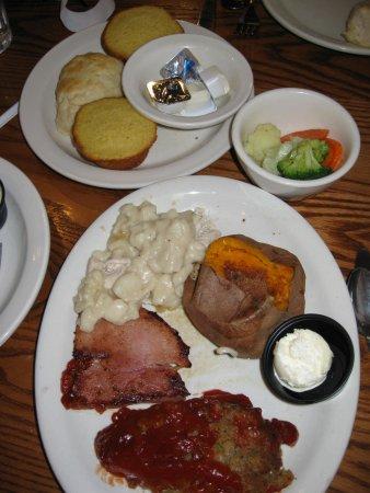 Bloomington, IL: Dinner Sampler: Meatloaf, Sugar Ham, Chicken&Dumplings, Baked Sweet Potato, Season Veggies