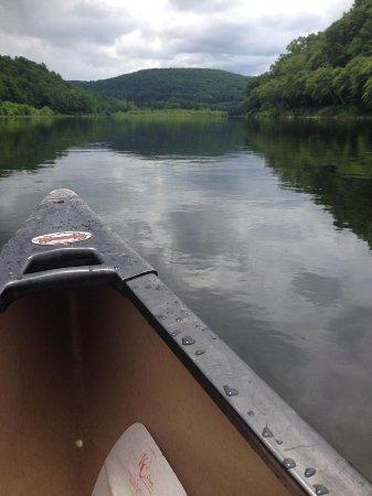 Barryville, estado de Nueva York: Canoe trip!