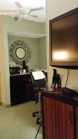 """SpringHill Suites Memphis Downtown: The living/working space of the """"suite"""""""