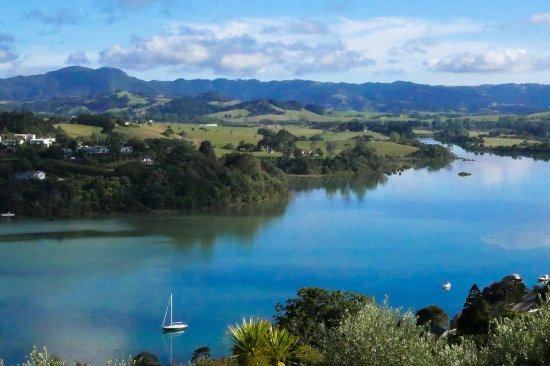 Warkworth, New Zealand: The water view from front deck