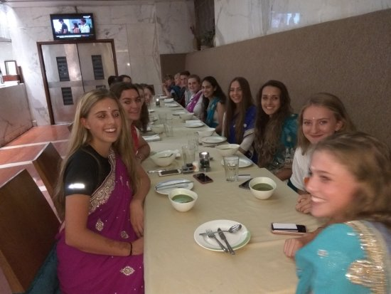 Jaypee Siddharth: AT OUR DEPARTURE DINNER