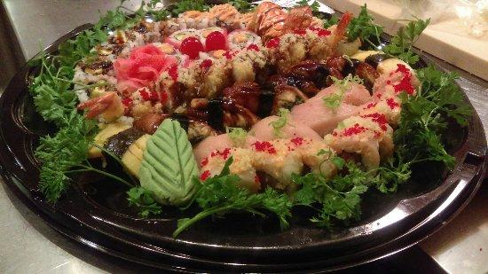 Newark, OH: Sushi Tray