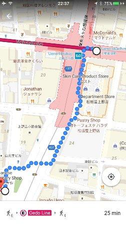 Usagiya: direction from subway station