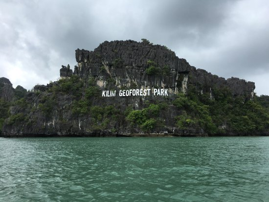 Kuah, Malasia: Kilim Geoforest Park Sign