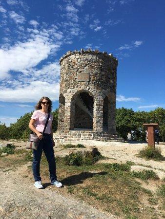 Mount Battie: Great panoramic view