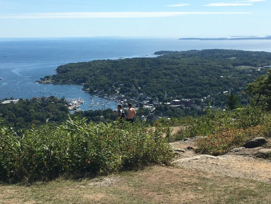 Camden, ME: Great panoramic view