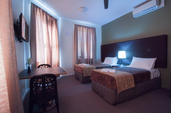 Botany, Australia: Waterworks Hotel Accommodation