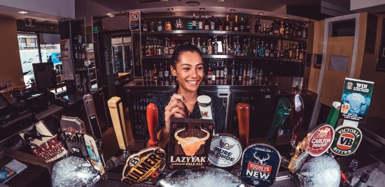 Botany, Australien: Waterworks Sports Bar has a great range of local, imported and craft beers available
