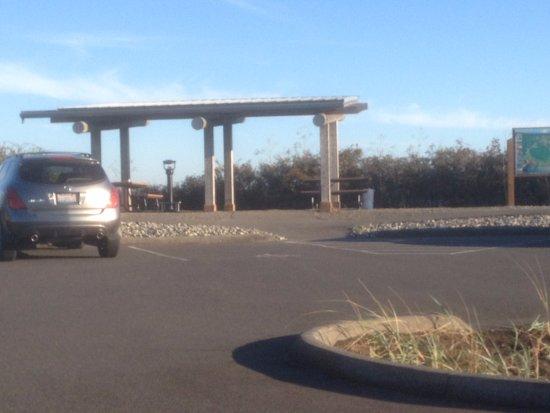 Blaine, واشنطن: The parking lot