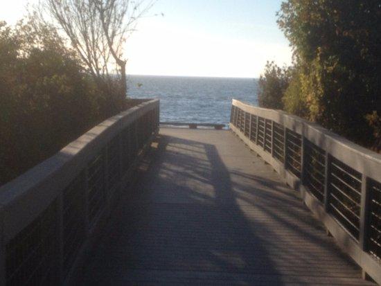 Blaine, واشنطن: The boardwalk