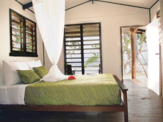 Qamea Island, Fiji: Double Beachfront Bure