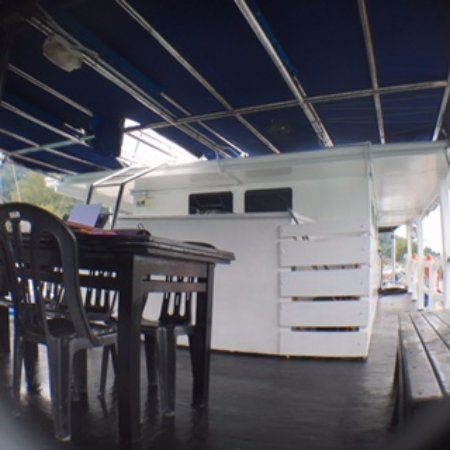 Tekek, Malásia: Frogman's Dining Place