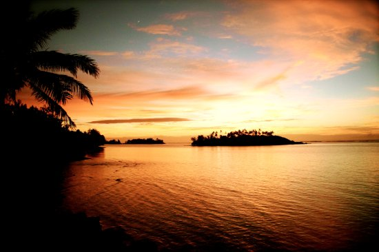 Muri Beach Cottages: Sunrise Heaven