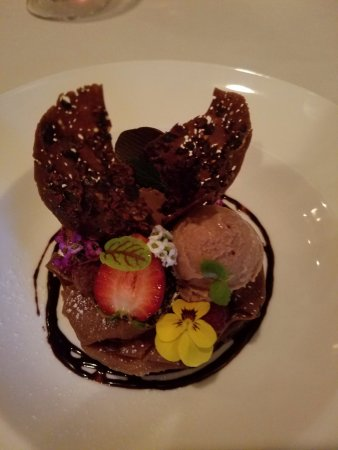 Forestville, CA: Chocolate Salad - if on l  all salads tasted this good!