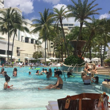 Loews Miami Beach Hotel April Pre Pool Renovation