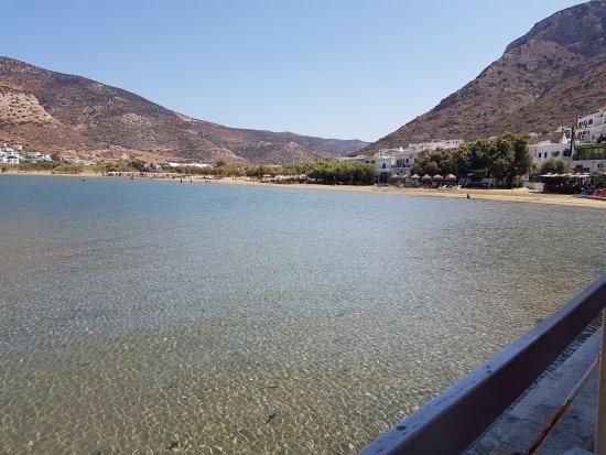 Kamares, Grækenland: view while you eat