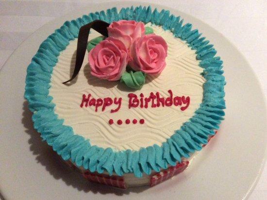KC Grande Resort Spa Beautiful Tasty Birthday Cake