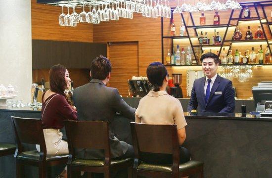 Novotel Ambassador Daegu: Rendez-vous Bar 1st Floor