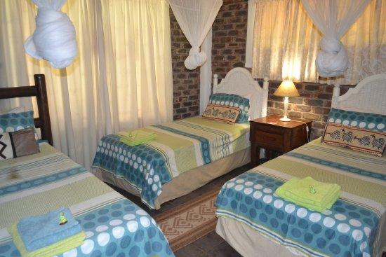Marloth Park, Sudafrica: Giraffe Lodge -bedroom 2