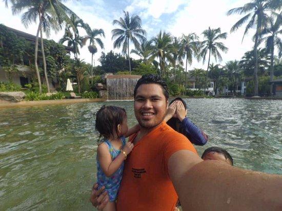 Cyberjaya, Malásia: the pool is huge!