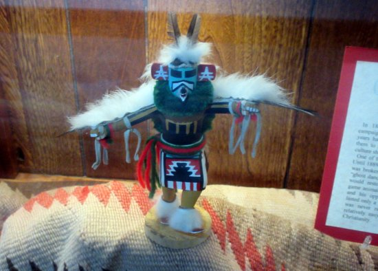 Kachina Doll, Arizona Route 66 Museum, Kingman, AZ