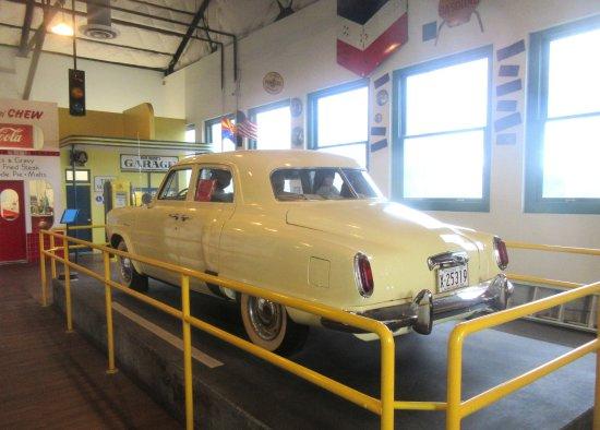 Car,Arizona Route 66 Museum, Kingman, AZ