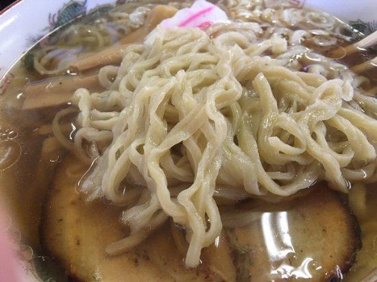 Yuki, Ιαπωνία: 佐野ラーメン 麺アップ