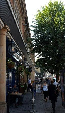 The Square Bottle pub.