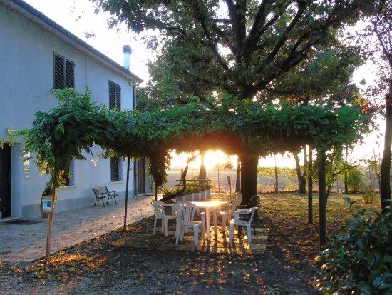 Libolla, Italië: Il parco alla luce del mattino