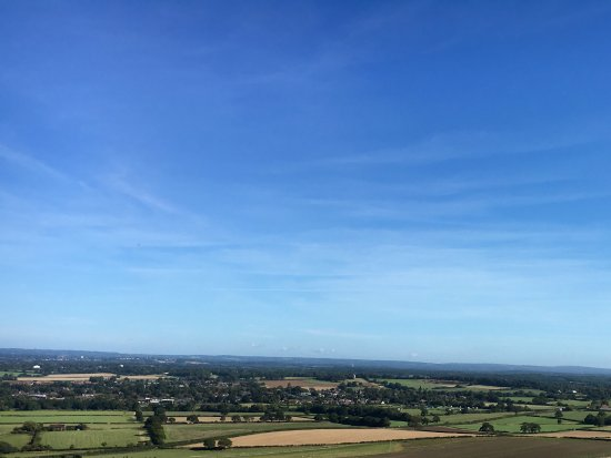 Hassocks, UK: Stunning views for miles