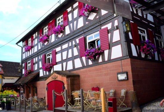 Durbach, Alemanha: L'une des façades extérieures