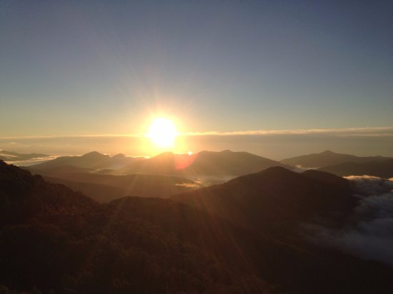 Shimukappu-mura, Japan: 雲海を見に行きました②