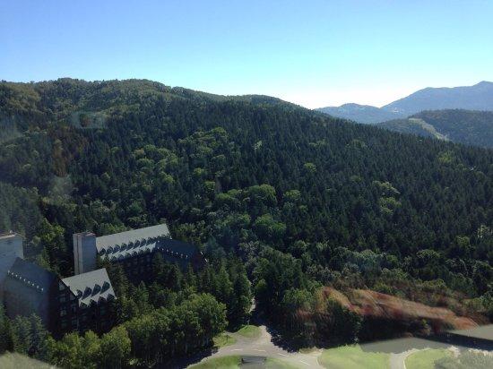 Shimukappu-mura, Japón: もやがすっきり取れて、眺めは抜群です!