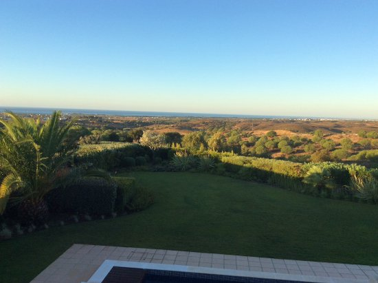 Vila Nova de Cacela, Португалия: View from master bedroom in villa