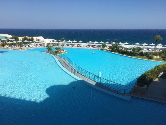 Лахания, Греция: Hotel 'lagoon' & pool