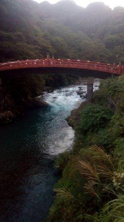 Shinkyo: the bridge and the rushing water