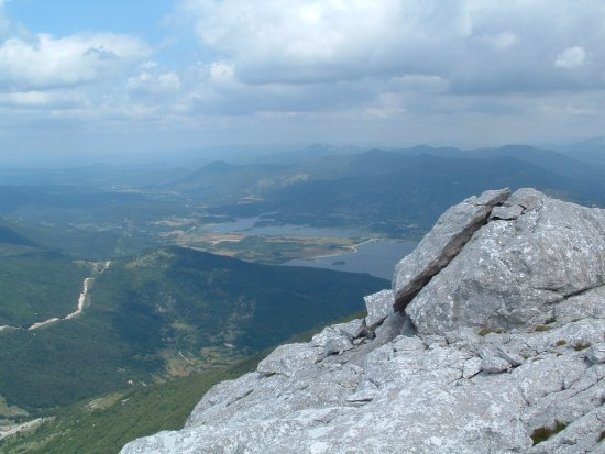 Gospic, Croacia: View from the peak